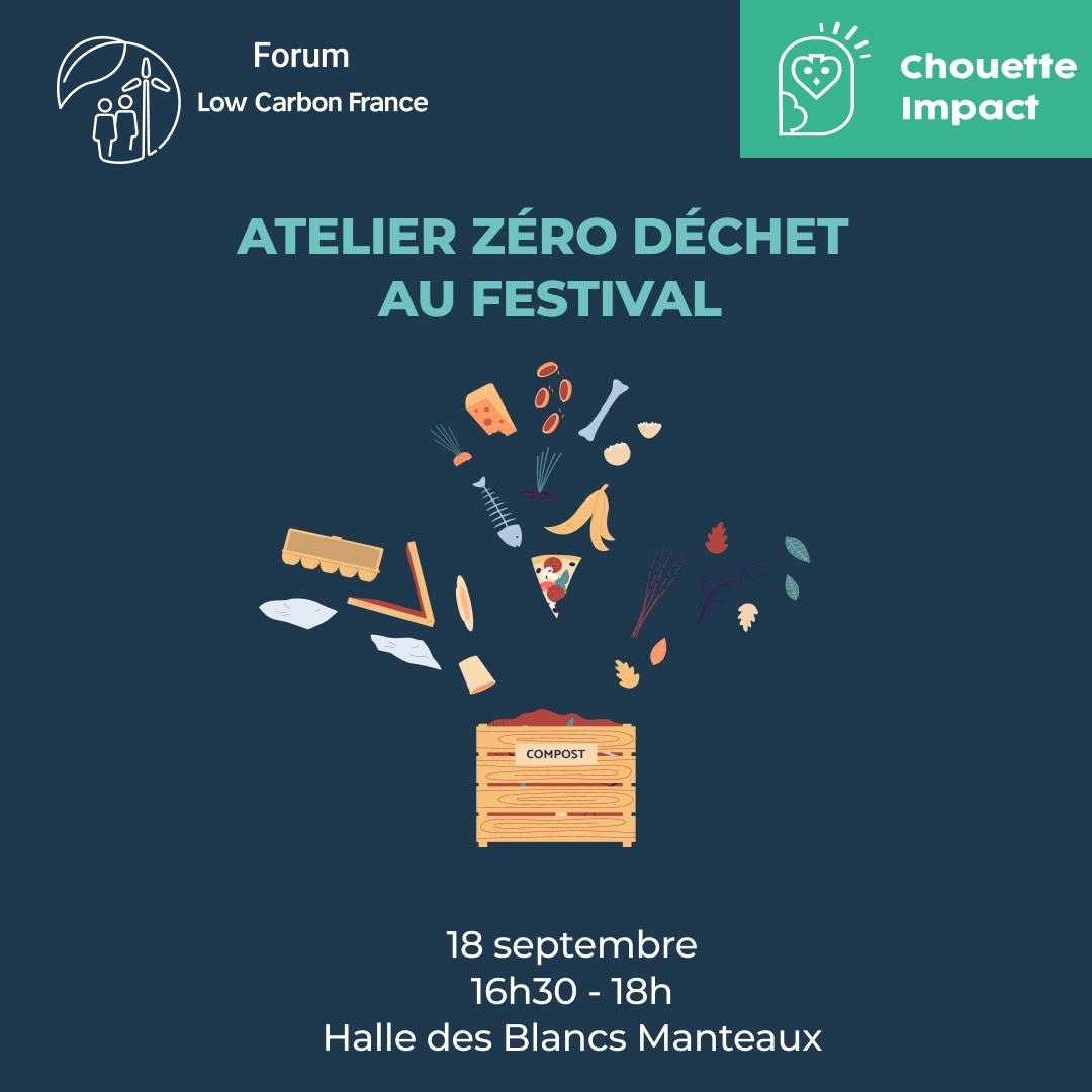 Atelier Zéro déchet – Chouette Impact
