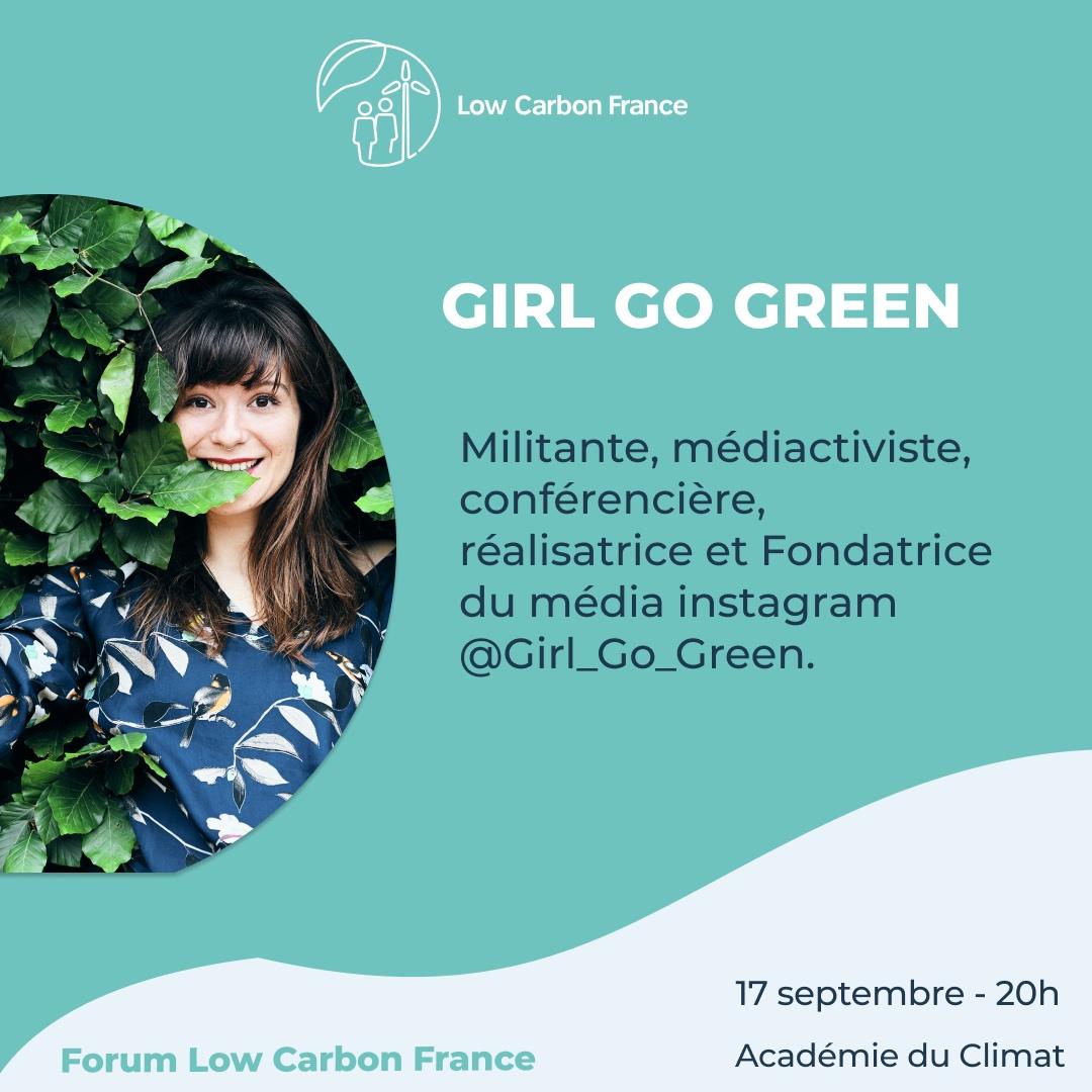 Girl Go Green