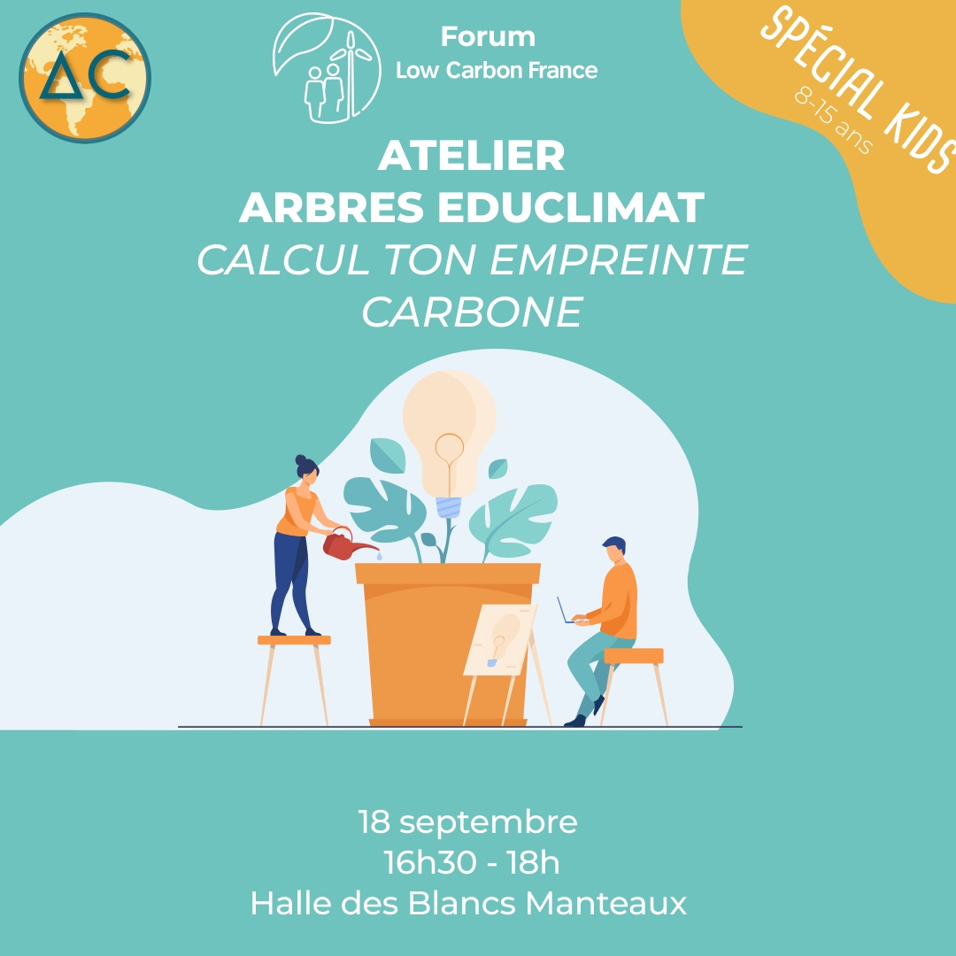 Atelier Arbres Educlimat – Calcul ton empreinte carbone