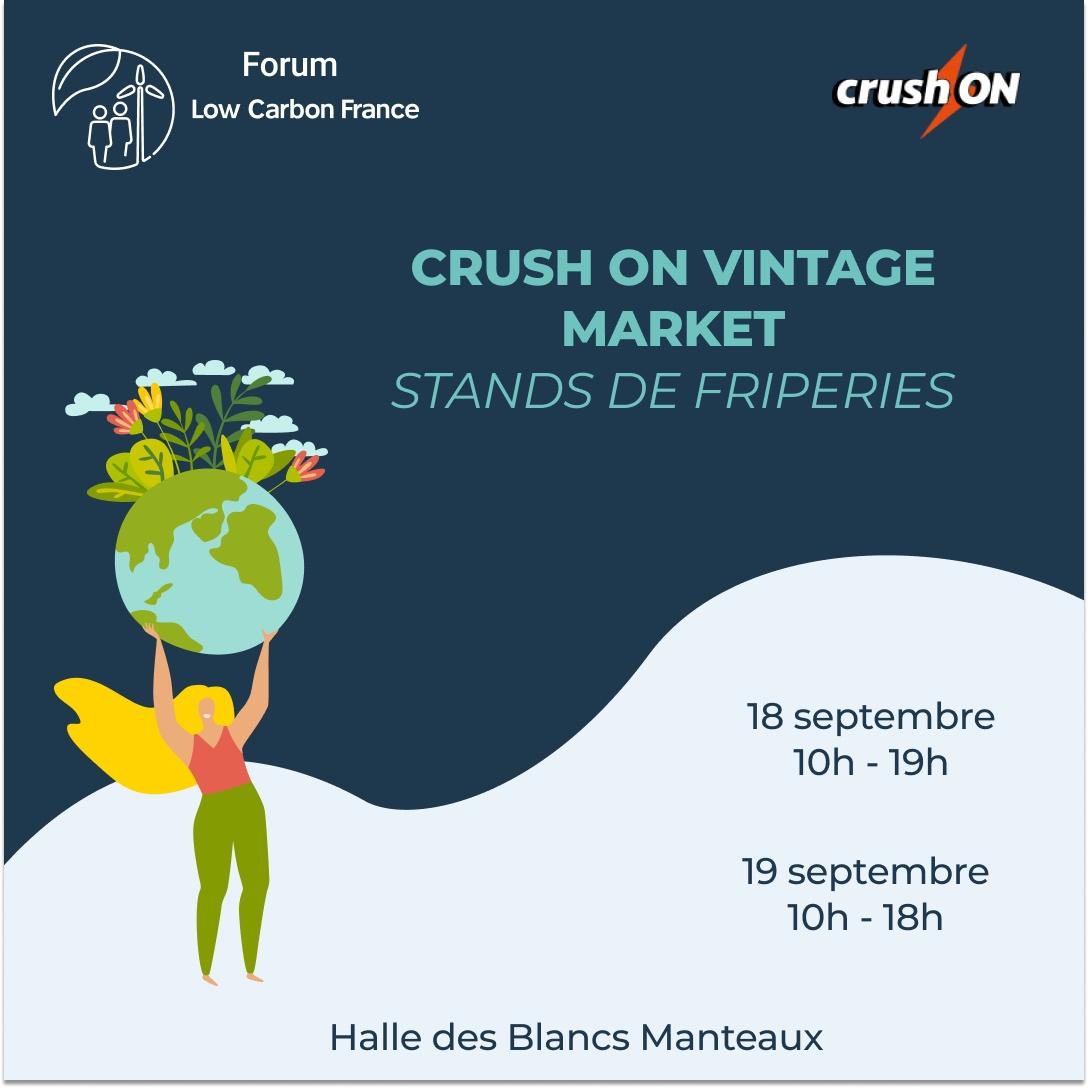 Crush on vintage Market – Stands de friperies